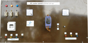 AC Drive Speed Control